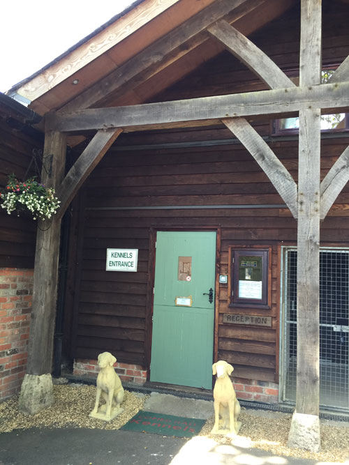 Copied Hall Dog Kennels booking in
